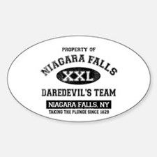 Property of Niagara Falls Sticker (Oval)