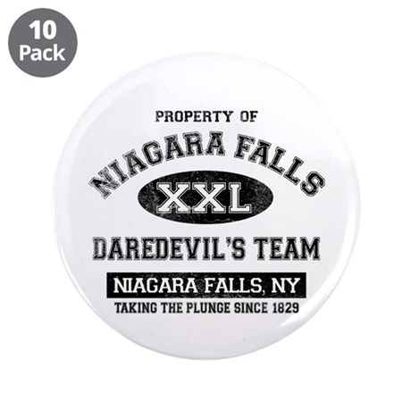 "Property of Niagara Falls 3.5"" Button (10 pack)"