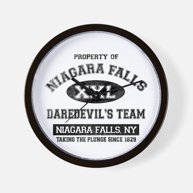 Property of Niagara Falls Wall Clock