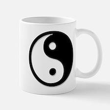 Black Yin Yang Mug