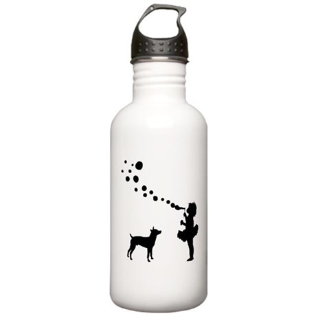 Rat Terrier Stainless Water Bottle 1.0L