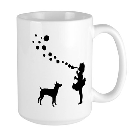 Rat Terrier Large Mug