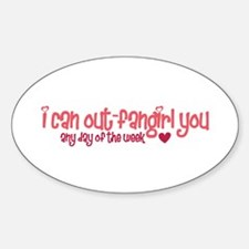 Out-Fangirl Sticker (Oval)