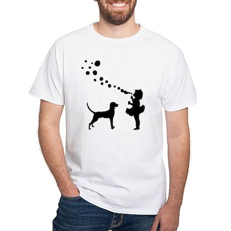 Redbone Coonhound White T-Shirt