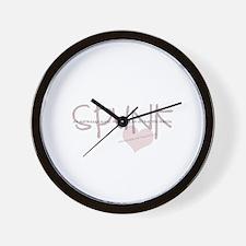 Spunk Slang Wall Clock