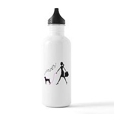 Rat Terrier Sports Water Bottle