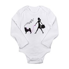 Shiba Inu Long Sleeve Infant Bodysuit