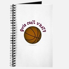 Brown/Pink Basketball Journal