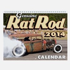 Genuine Rat Rod 2013 Calendar Wall Calendar