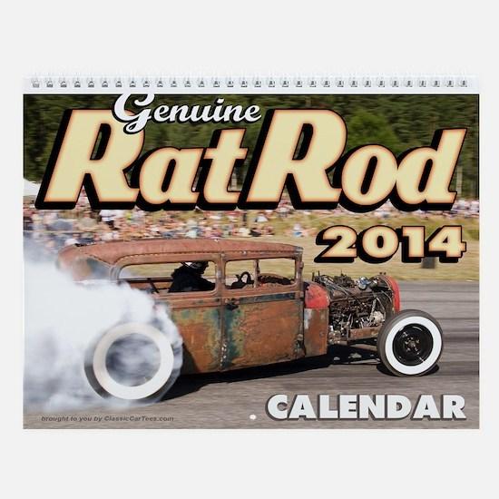 Genuine Rat Rod 2013 Calendar Wall Calendar