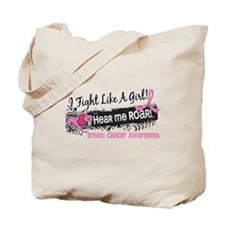 Licensed Fight Like a Girl 19.1 Tote Bag