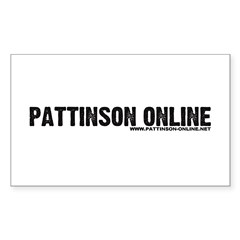 Pattinson Online Logo Decal