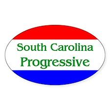 South Carolina Progressive Oval Decal