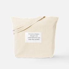 Stripper Castle Tote Bag