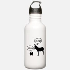 Pomeranian Sports Water Bottle