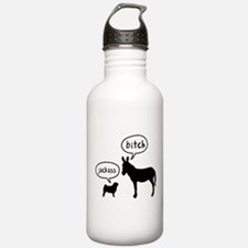 Pug Sports Water Bottle