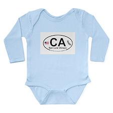 San Luis Obispo Long Sleeve Infant Bodysuit