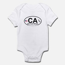 San Luis Obispo Infant Bodysuit
