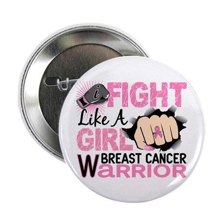 "Licensed Fight Like a Girl 20.2 2.25"" Button"