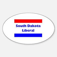 South Dakota Liberal Oval Decal
