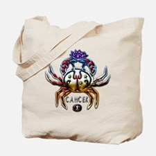 Cancer Zodiac Sign Art Tote Bag
