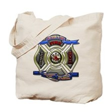 Firefighter Emergency Fire Rescue Shield Tote Bag