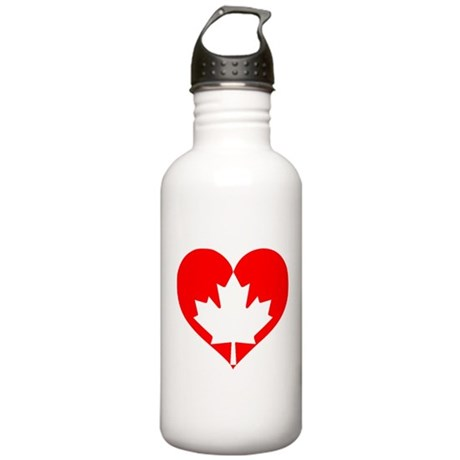 I heart Canada Stainless Water Bottle 1.0L