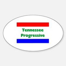 Tennessee Progressive Oval Decal