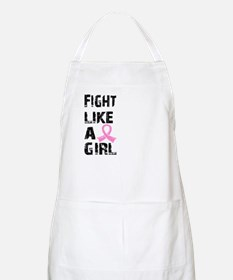 Licensed Fight Like a Girl 21.8 Apron