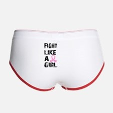 Licensed Fight Like a Girl 21.8 Women's Boy Brief