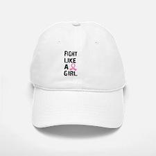 Licensed Fight Like a Girl 21.8 Baseball Baseball Cap
