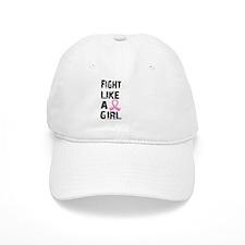 Licensed Fight Like a Girl 21.8 Baseball Cap