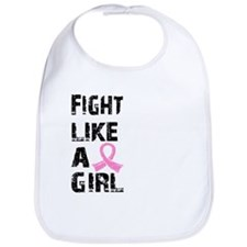 Licensed Fight Like a Girl 21.8 Bib