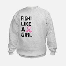 Licensed Fight Like a Girl 21.8 Sweatshirt