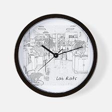 Lab Rats Wall Clock
