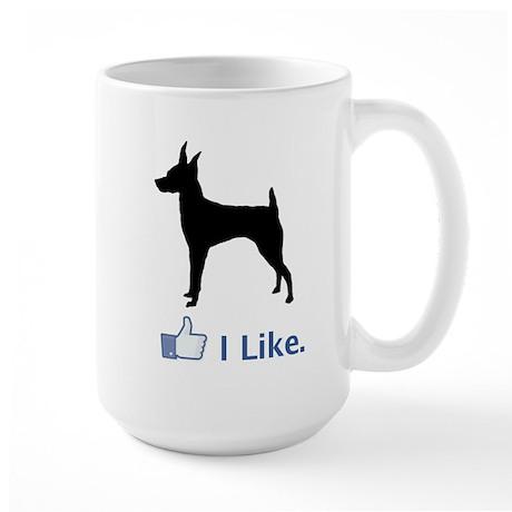 Toy Fox Terrier Large Mug