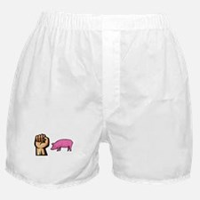 Fist Pig Boxer Shorts
