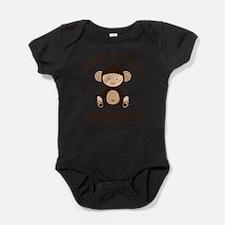 Gramps Grandchild Monkey Body Suit