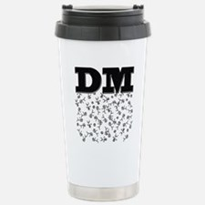 DM Stainless Steel Travel Mug