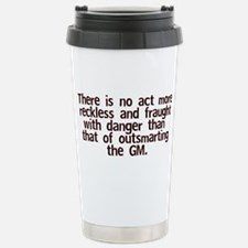 Outsmart GM Travel Mug