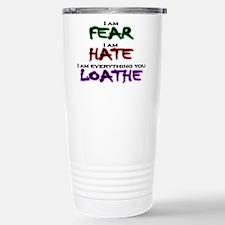 I am Fear Travel Mug