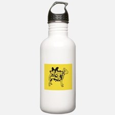 Yellow Tattoo Pit Water Bottle