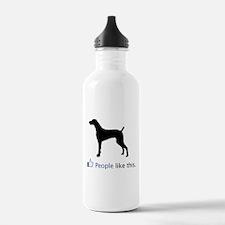 Weimaraner Sports Water Bottle