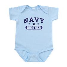 Navy Brother Infant Bodysuit