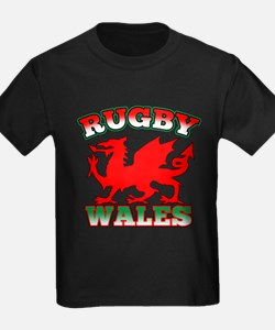 Rugby Wales Flag T