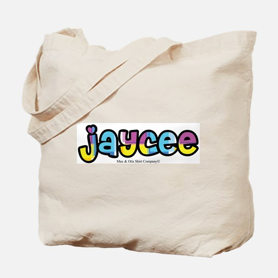 Jaycee - personalized design Tote Bag