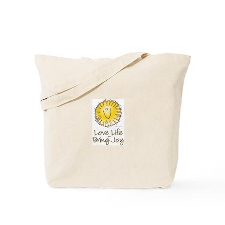 Love Life Bring Joy Tote Bag