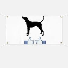 Treeing Walker Coonhound Banner