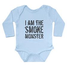 Smoke Monster Long Sleeve Infant Bodysuit