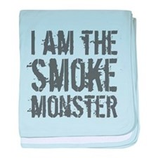 Smoke Monster baby blanket